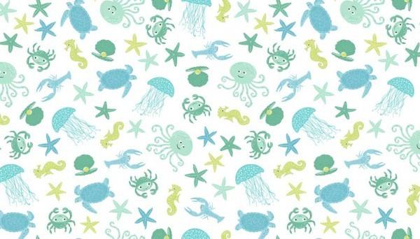 tissu bord de mer