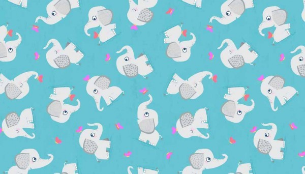 tissu éléphant